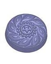 Stylized Ornate Deco Button Soap Mold