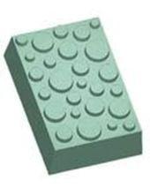 Stylized Polka Dots Soap Mold
