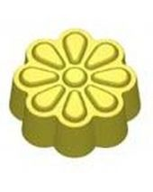 Stylized Retro Flowers Soap Mold