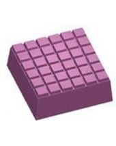 Stylized Tile Square Soap Mold