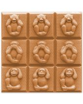 Tray 3 Wise Monkeys Soap Mold