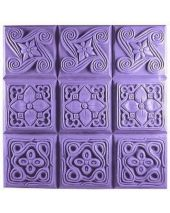 Tray Brocades Soap Mold