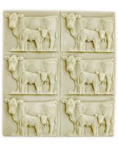 Tray Cow and Calf Soap Mold