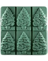 Tray Fir Tree Soap Mold