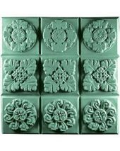 Tray Gothic Florals Soap Mold