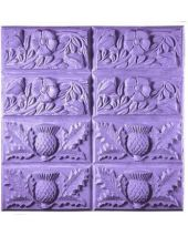 Tray Thistle Buttercup Soap Mold