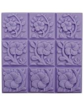 Tray Tropical Vines Soap Mold