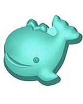 Stylized Whale Willie Soap Mold