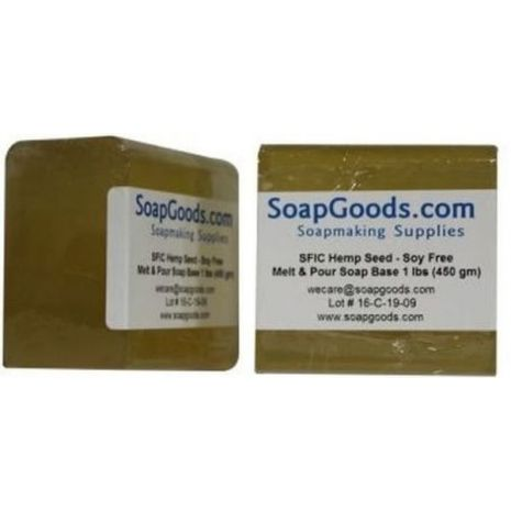 SFIC Hemp Seed Oil Soap Base