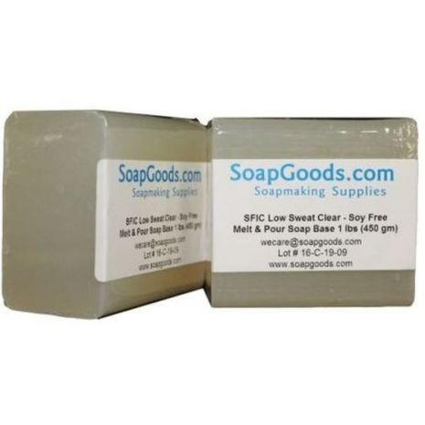 SFIC Low Sweat Clear Soap Base