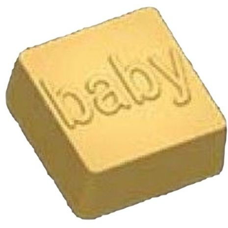 Stylized Baby Imprint Soap Mold