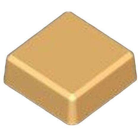 Stylized Beveled Square Soap Mold