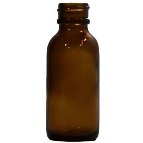 Glass Bottle 1 Oz Amber