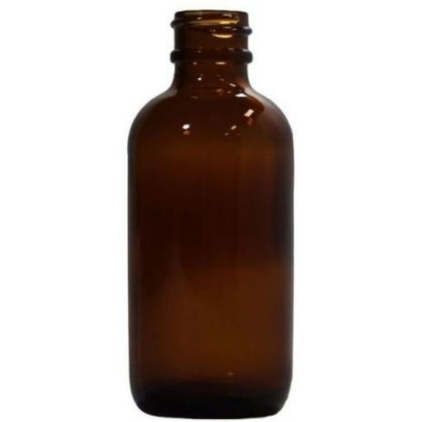 Glass Bottle 2 Oz Amber