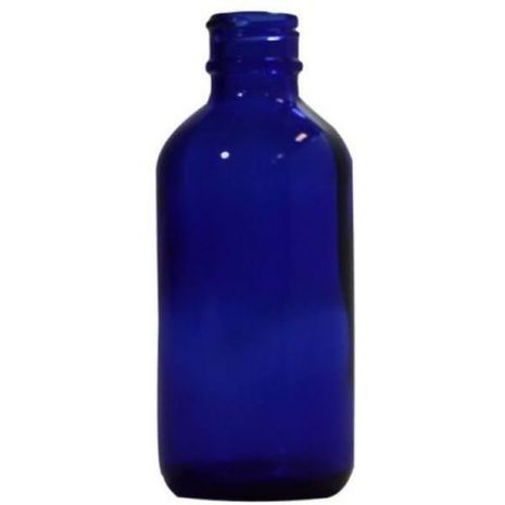 Glass Bottle 2 Oz Blue