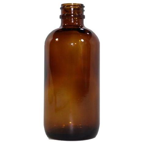 Glass Bottle 4 Oz Amber