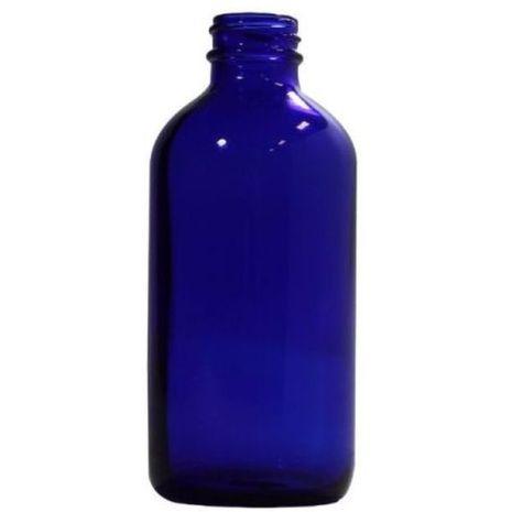 Glass Bottle 8 Oz Blue