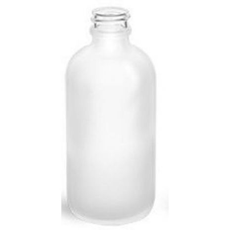 Glass Bottle 8 Oz Frosted