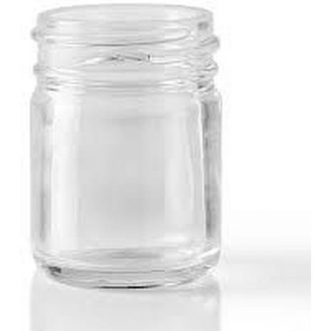 Glass Jar 1 Oz Clear