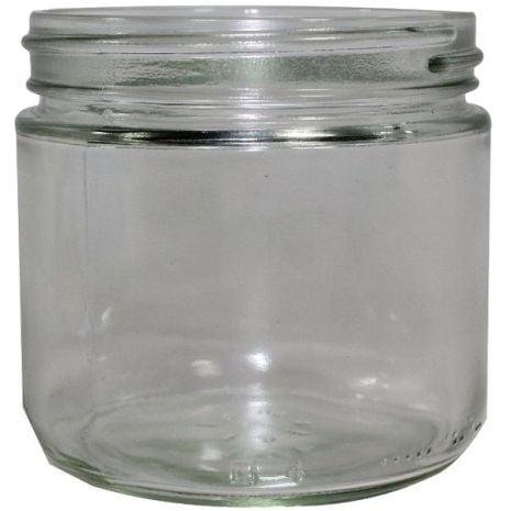 Glass Jar 2 Oz Clear