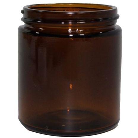Glass Jar 4 Oz Amber