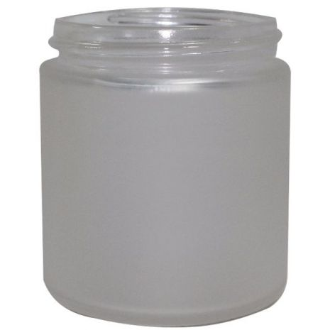 Glass Jar 4 Oz Frosted