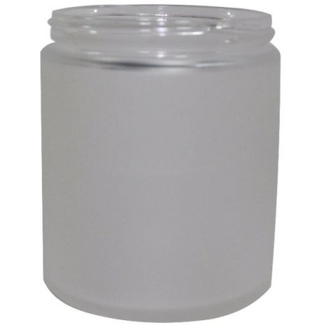 Glass Jar 8 Oz Frosted