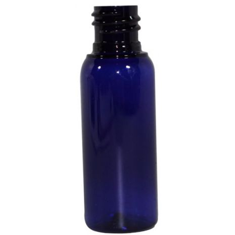 Plastic Bottle 1 Oz Blue Cosmo Rounds