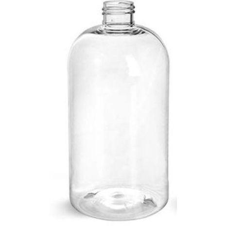 Plastic Bottle 16 Oz Clear Boston