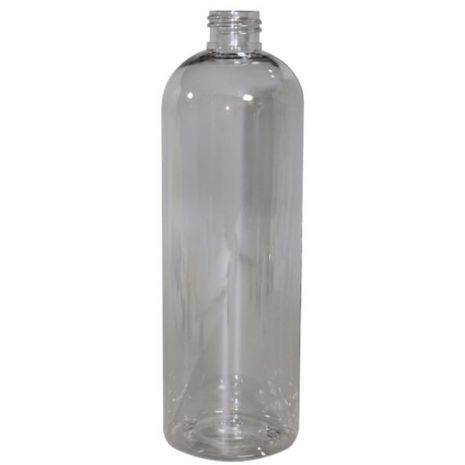 Plastic Bottle 16 Oz Clear Cosmo Rounds