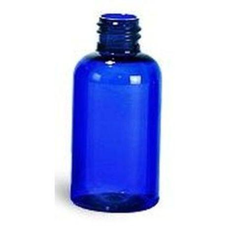 Plastic Bottle 2 Oz Blue Boston Rounds