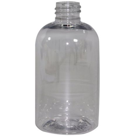 Plastic Bottle 2 Oz Clear Cosmo Oval