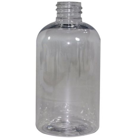 Plastic Bottle 4 Oz Clear Boston
