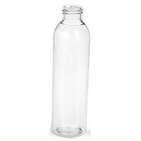 Plastic Bottle 6 Oz Clear Cosmo Rounds