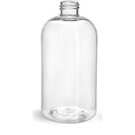 Plastic Bottle 8 Oz Clear Boston