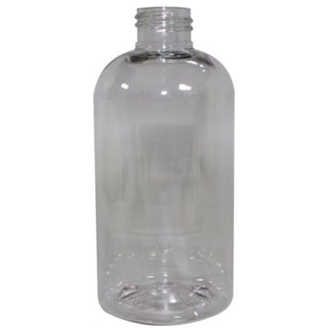 Plastic Bottle 8 Oz Clear Cosmo Oval