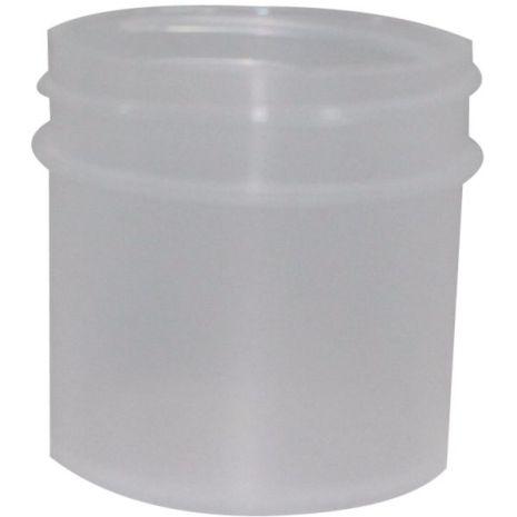 Plastic Jar 1 Oz Natural