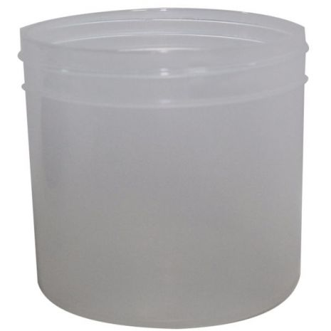 Plastic Jar 12 Oz Natural