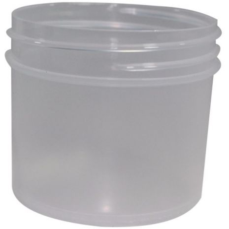 Plastic Jar 2 Oz Natural