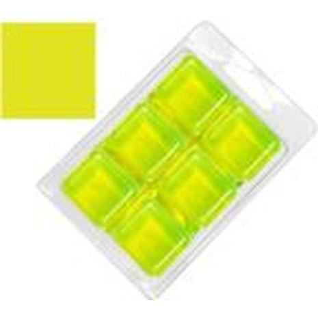 Soap Color Bar - Stained Glass Brilliant Lemon Lime