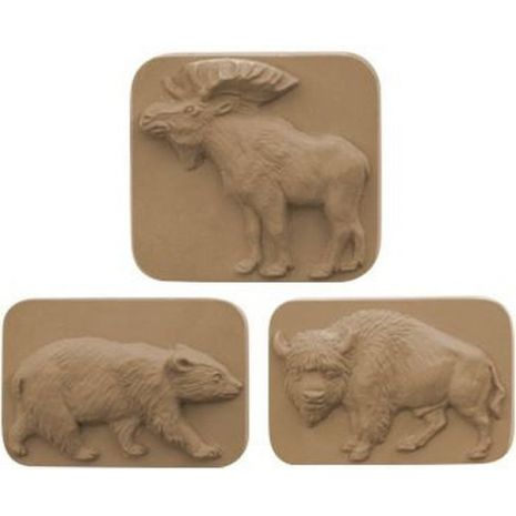 Nature Animals Soap Mold