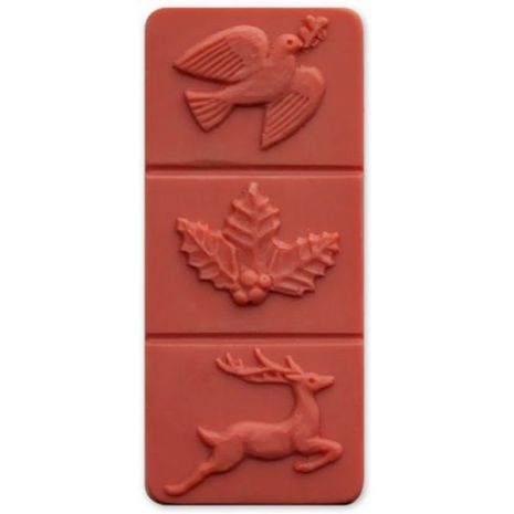 Nature Breakaway Holiday Soap Mold