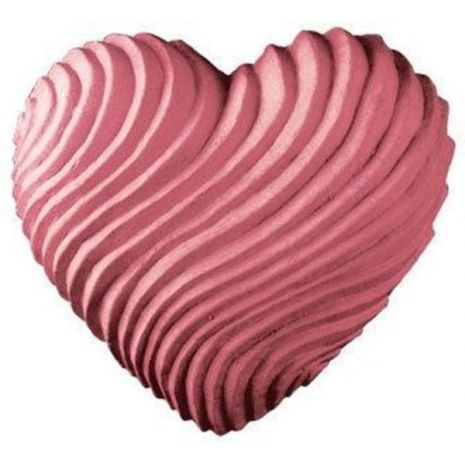 Nature Swirled Heart Soap Mold