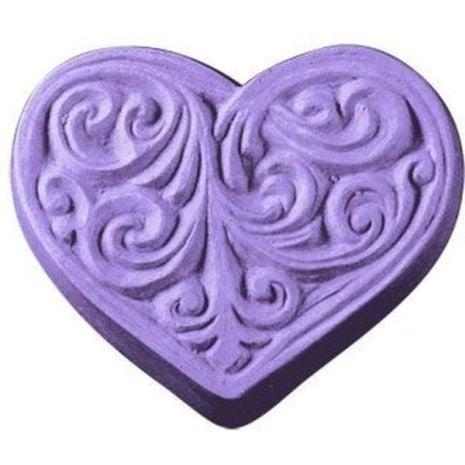 Nature Victorian Heart Soap Mold