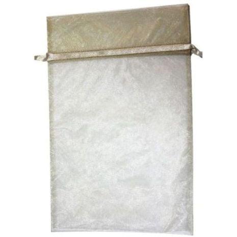 Organza Bag - Gold 8 x 12