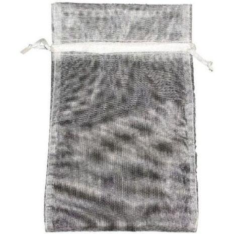 Organza Bag - Ivory 5 x 8