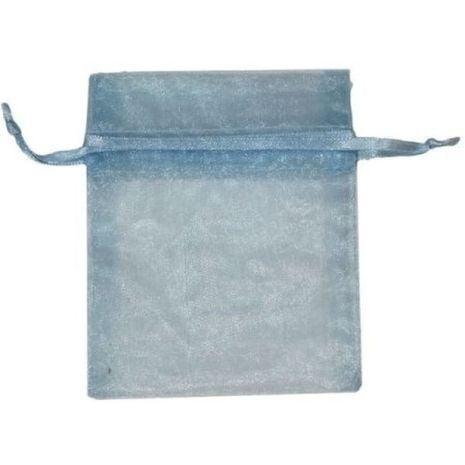 Organza Bag - Light Blue 3 x 4