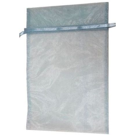 Organza Bag - Light Blue 8 x 12