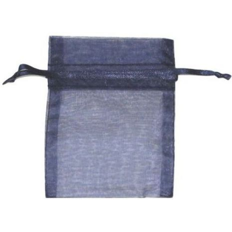 Organza Bag - Navy Blue 3 x 4