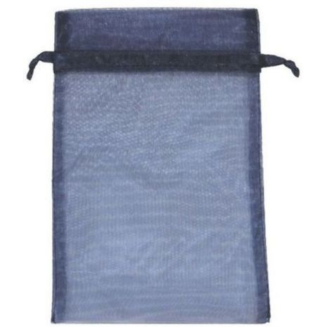 Organza Bag - Navy Blue 5 x 8